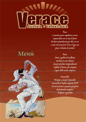 Verace Menu alla Carta